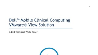 White paper dell mobile clinical computing vmware view solution.pdf thumb rect large320x180