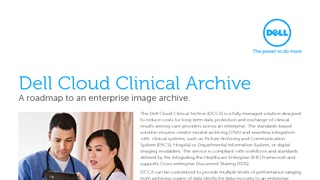 Data sheet overview of del cloud clinical archive.pdf thumb rect large320x180