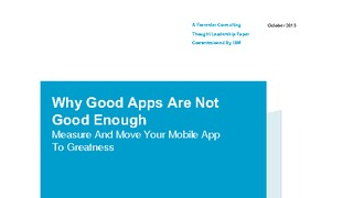 Report forrester why good apps are not good enough.pdf thumb rect large320x180