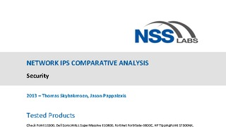 Report nss labs network ips comparative analysis.pdf thumb rect large320x180