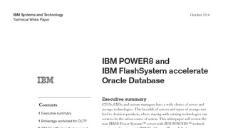 White paper ibm power8 and flashsystem accelerate oracle database.pdf thumb rect large320x180