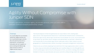 Solution brief agility withought compromise with juniper sdn.pdf thumb rect large320x180