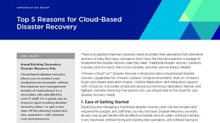 Solution brief top 5 reasons for cloud based disaster recovery.pdf thumb rect large320x180
