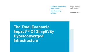 Report forrester total economic impact of simplivity hyperconverged infrastructure.pdf thumb rect large320x180