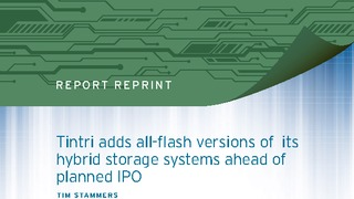 Report 451 research tintri adds all flash versions of its hybrid storage systems.pdf thumb rect large320x180