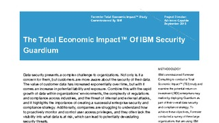 Forrester report the total economic impact of ibm security guardium.pdf thumb rect large320x180