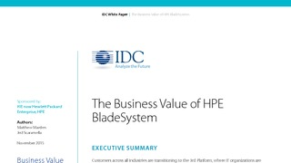 White paper business value of hpe bladesystem.pdf thumb rect large320x180