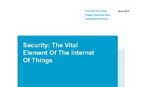 Report forrester security the vital element of iot.pdf thumb rect large320x180