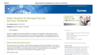 Report magic quadrant for managed security services  worldwide.pdf thumb rect large320x180