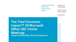 Forrester total economic impact tei of online meetings analyst report.pdf thumb rect large320x180