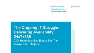 Forrester report the ongoing it struggle delivering availability 24x7x365.pdf thumb rect large320x180