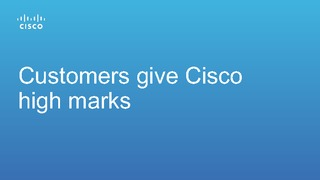 Research 451 report customers give high marks to cisco.pdf thumb rect large320x180