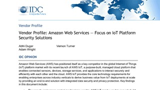Idc research aws focus on iot platform security solutions.pdf thumb rect large320x180