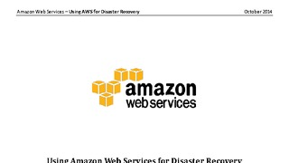 Aws for disaster recovery.pdf thumb rect large320x180