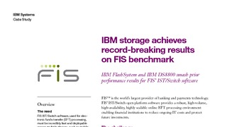 Cs ibm storage achieves record breaking results on fis benchmark.pdf thumb rect large320x180