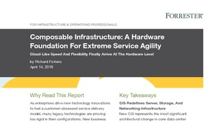 Forrester report composable infrastructure a hardware foundation for extreme service agility.pdf thumb rect large320x180