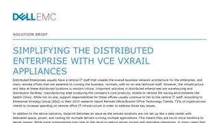 Sb simplifying the distributed enterprise with vce vxrail appliances.pdf thumb rect large320x180