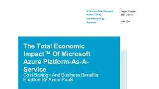 Whitepaper the total economic impact of microsoft azure paas forrester.pdf thumb rect large320x180
