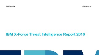 Ibm xforce threat intelligence report 2016.pdf thumb rect large320x180