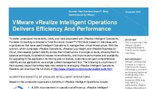 Forrester total economic impact of vrealize intelligent operations.pdf thumb rect large320x180