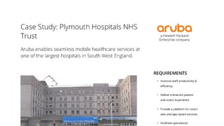 Aruba enables seamless mobile healthcare services at one of the largest hospitals in south west england.pdf thumb rect large320x180
