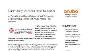 Al zahra hospital dubai enhances staff productivity and patient experience with aruba mobile first network.pdf thumb rect large320x180
