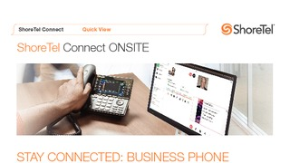 Shoretel connect onsite quick view.pdf thumb rect large320x180