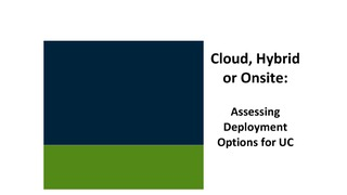 J arnold associates report cloud  hybrid or onsite.pdf thumb rect large320x180