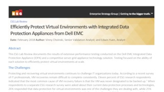 Esg lab review idpa from dell emc.pdf thumb rect large320x180