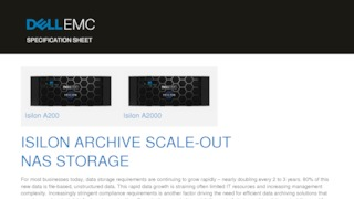 Dell emc isilon archive scale out nas storage.pdf thumb rect large320x180