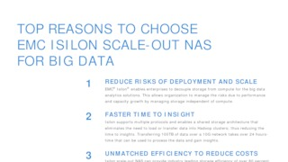 Top reasons to choose emc isilon scale out nas for big data storage.pdf thumb rect large320x180