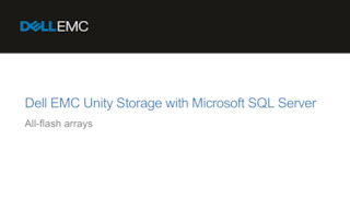 Dell emc unity storage with microsoft sql server.pdf thumb rect large320x180