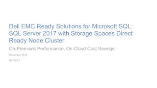 Sql server 2017 with storage spaces direct ready node cluster white paper.pdf thumb rect large320x180