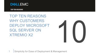 Top ten reasons why customers deploy microsoft sql server on xtremio x2.pdf thumb rect large320x180