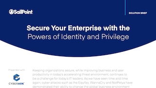 Sailpoint secure your enterprise with the powers of identity and privilege.pdf thumb rect large320x180