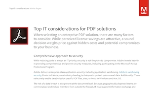 Adobe top it considerations for pdf solutions ue.pdf thumb rect large320x180