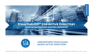Data sheet   stealthaudit for active directory   azure active directory   reporting.pdf thumb rect large320x180