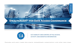Data sheet   stealthaudit for data access governance.pdf thumb rect large320x180