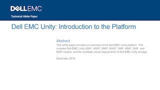 Dell emc unity  introduction to the platform.pdf thumb rect large320x180