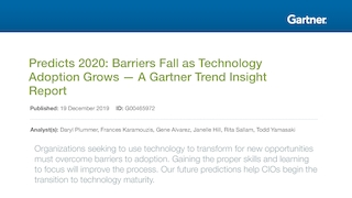 Gartner predicts 2020 barriers fall as technology adoption grows a gartner trend insight report.pdf thumb rect large320x180