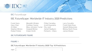 Idc futurescape  worldwide it industry 2020 predictions.pdf thumb rect large320x180