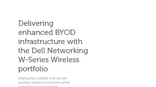 Dell networking white paper delivering enhanced byod infrastructure w series wireless.pdf thumb rect large320x180