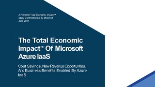 Azure iaas total economic impact report  tei  2017 by forrester.pdf thumb rect large320x180